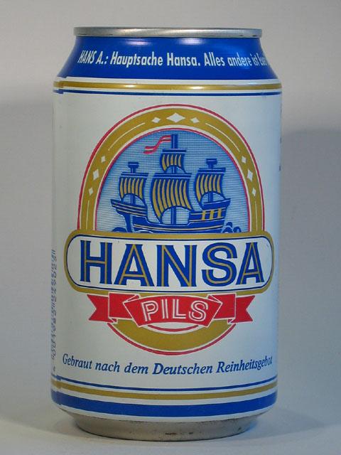 Hansa Pils Dose